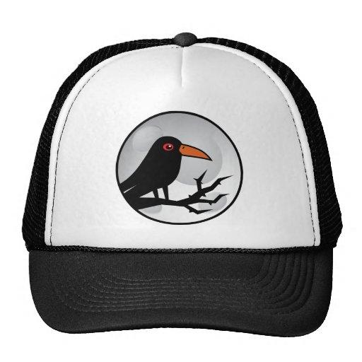 Blackbird Goth Raven/Crow Trucker Hat