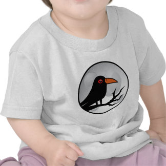 Blackbird Goth Raven Crow Tee Shirts