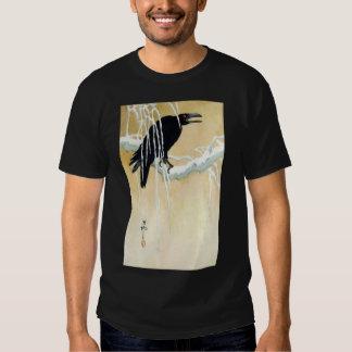 Blackbird in Snow, Ikeda Koson T-shirt