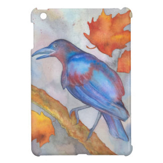 Blackbird in the storm iPad mini cover