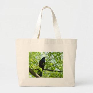 Blackbird Jumbo Tote Bag