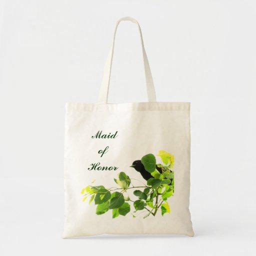 Blackbird Maid of Honor Canvas Bag