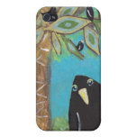 Blackbird Paradise Cover For iPhone 4