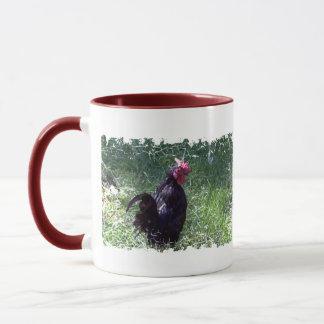 Blackbird the Rooster Mug