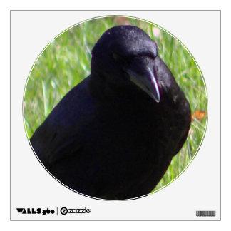 blackbird thinking wall sticker