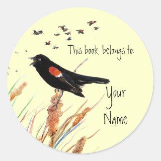 Blackbird, This book  belongs to Bookplate