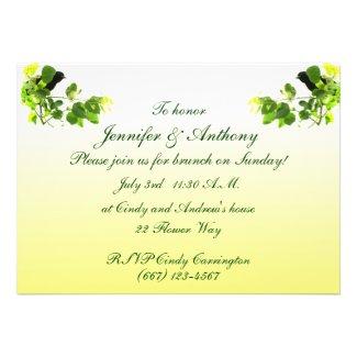 Blackbird Wedding Brunch Invite