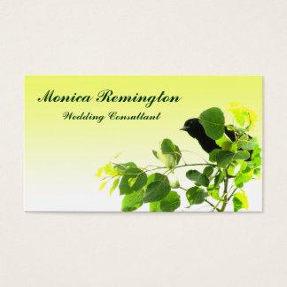 Blackbird Wedding Consultant Business Card