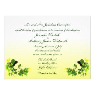 Blackbird Wedding Custom Invite