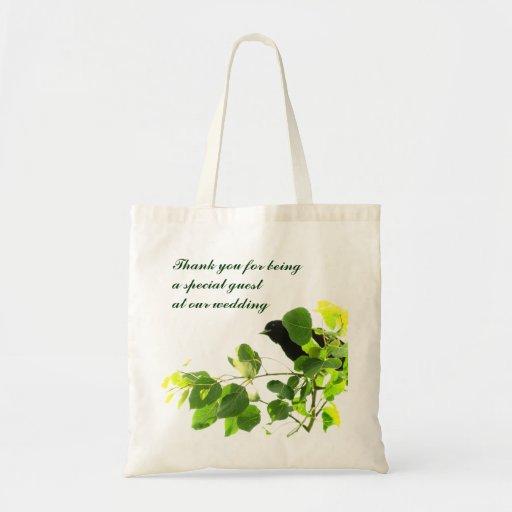 Blackbird Wedding Favor Bag