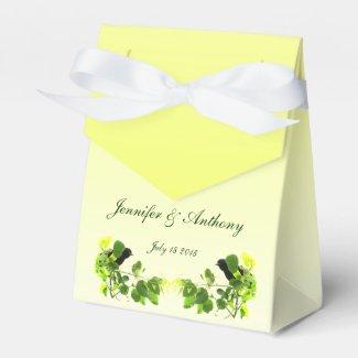 Blackbird Wedding Favor Box