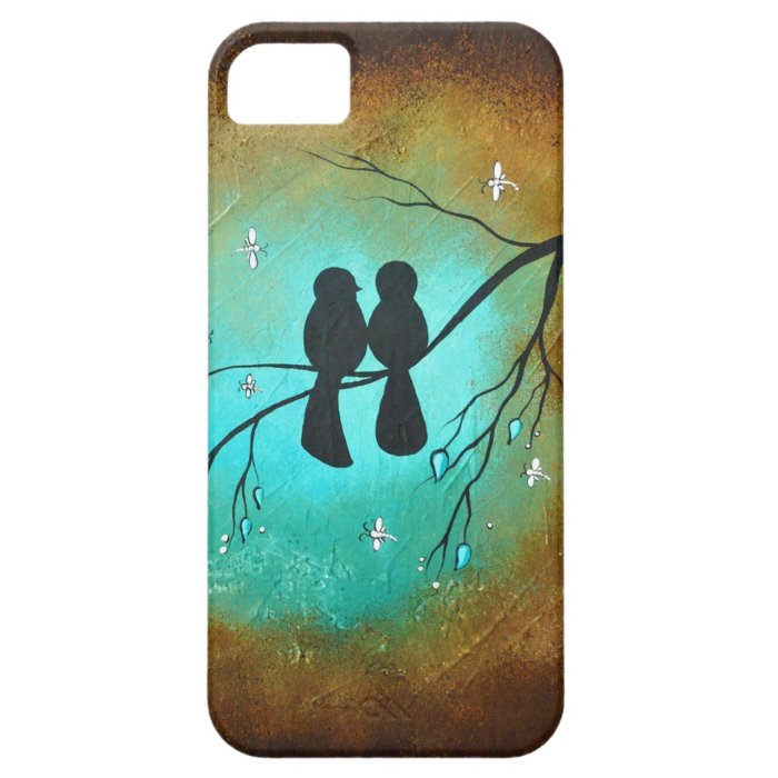Blackbirds and Dragonflies i-Phone 5 Case