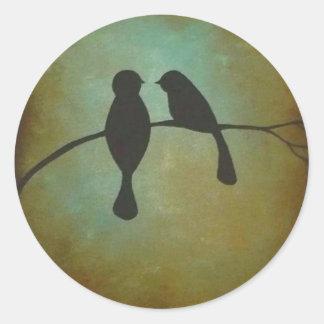 Blackbirds Classic Round Sticker