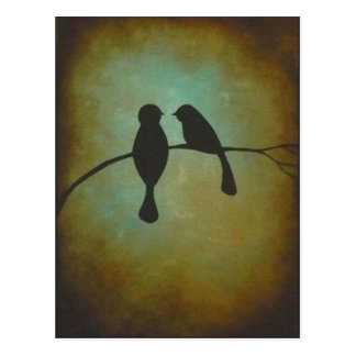 Blackbirds Postcard