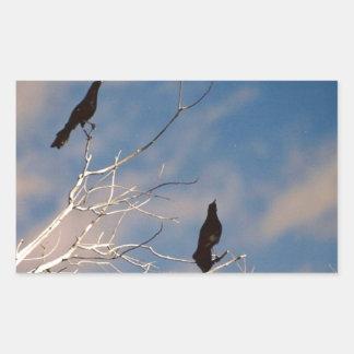 Blackbirds Rectangular Sticker