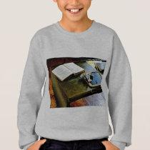 Blackboard and Books Sweatshirt