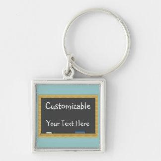 Blackboard Greeting - Customizable Key Chain