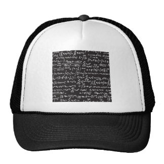 Blackboard Math Equations Trucker Hat