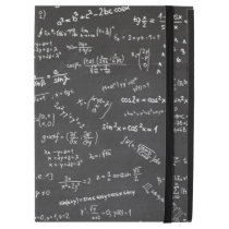 "Blackboard Math Numbers Formulas Equations iPad Pro 12.9"" Case"