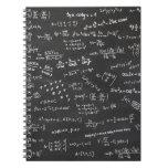 Blackboard Math Spiral Notebook