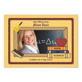 Blackboard Photo Frame Invitation