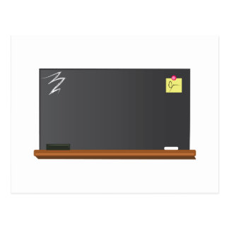 Blackboard Postcard
