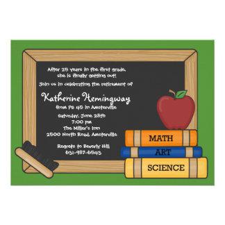 Blackboard Teacher s Retirement Invitation 2