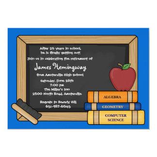 Blackboard Teacher's Retirement YOU PICK COLOR Card
