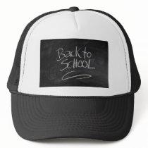Blackboard Trucker Hat