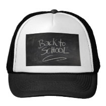 Blackboard Trucker Hat