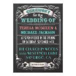 Blackboard Vintage Wedding Invitations