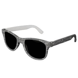 Blackboard With Math Formulas Sunglasses
