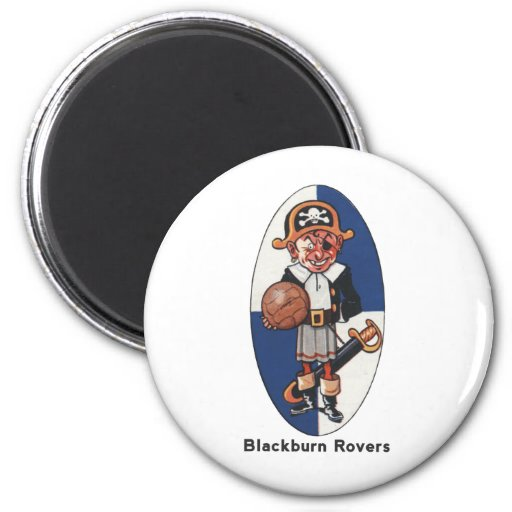 Blackburn Rovers Football Club 2 Inch Round Magnet