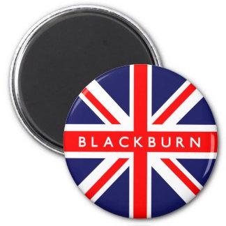 Blackburn UK Flag 2 Inch Round Magnet