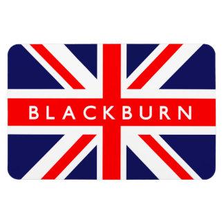 Blackburn UK Flag Rectangular Photo Magnet
