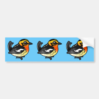 Blackburnian Warbler Bumper Sticker