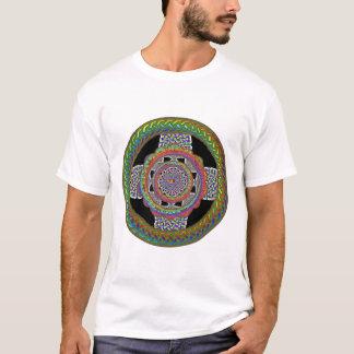 blackcirclecelticrainbowcross T-Shirt
