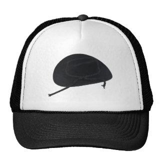 BlackCowboyHat080509 Trucker Hat