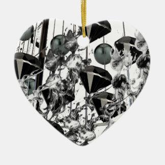 blackd&p.png adorno navideño de cerámica en forma de corazón