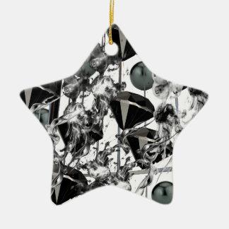 blackd&p.png adorno navideño de cerámica en forma de estrella