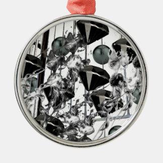 blackd&p.png adorno navideño redondo de metal