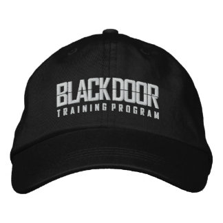 Blackdoor Training Program (black cap) Baseball Cap