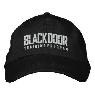 Blackdoor Training Program (black cap) Embroidered Baseball Cap