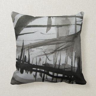blackened rain forest pillow