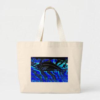 Blackened Salmon JPG Canvas Bag