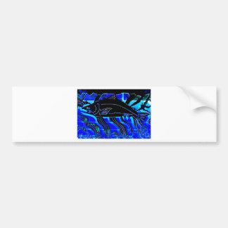 Blackened Salmon JPG Bumper Sticker