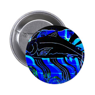 Blackened Salmon JPG Pinback Buttons