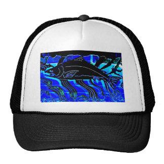 Blackened Salmon JPG Mesh Hat