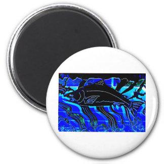 Blackened Salmon JPG Fridge Magnets