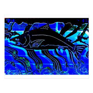 Blackened Salmon JPG Post Card